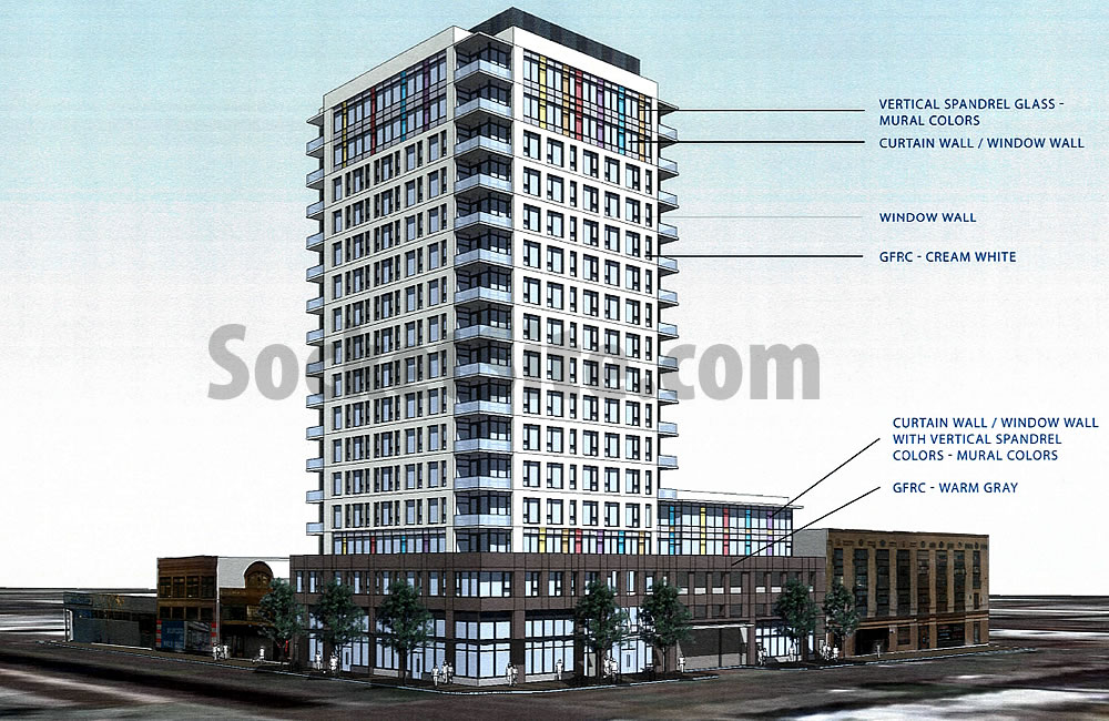 250 14th Street Rendering Revised Materials