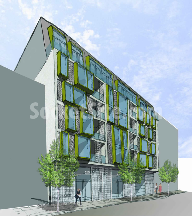 2525 Van Ness Design Option A