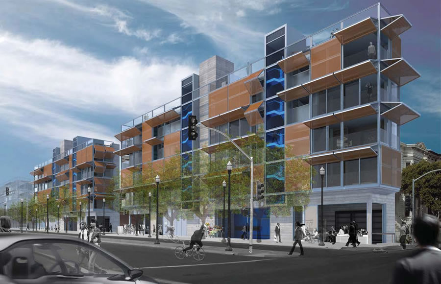 Super Skinny Hayes Valley Buildings Slated for Approval