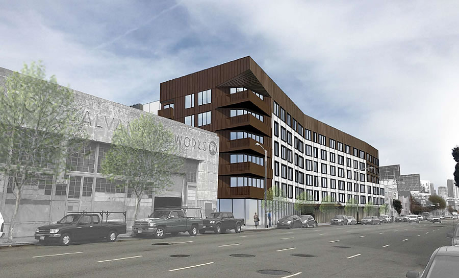 Socketsite Plans For A 381 Unit Western Soma Building