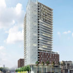 Designs for 250-Foot Hub Tower Submitted to Planning