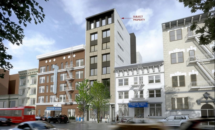 Big Cut for Approved Development in the Tenderloin