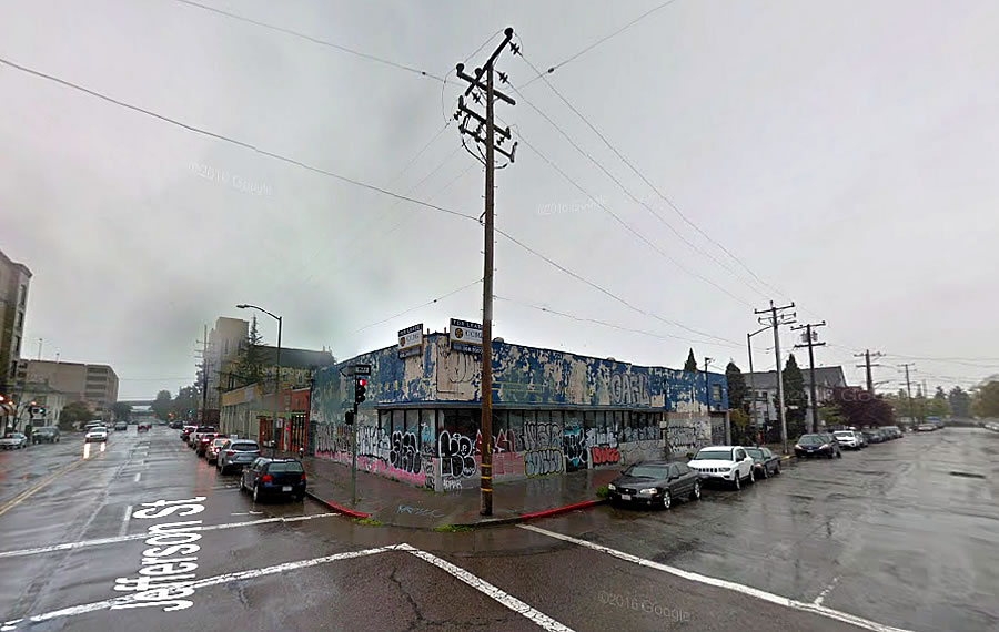 Big Plans for a 'Bombed-Out' Oakland Building Site