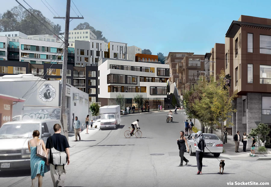 Revised Designs for Transforming Potrero's East Slope