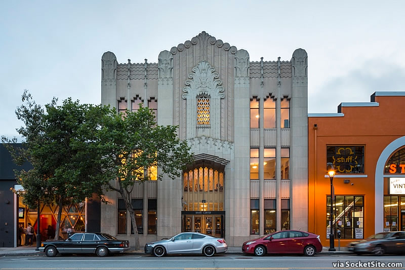Socketsite exceptional art deco temple on the market in Deco san francisco