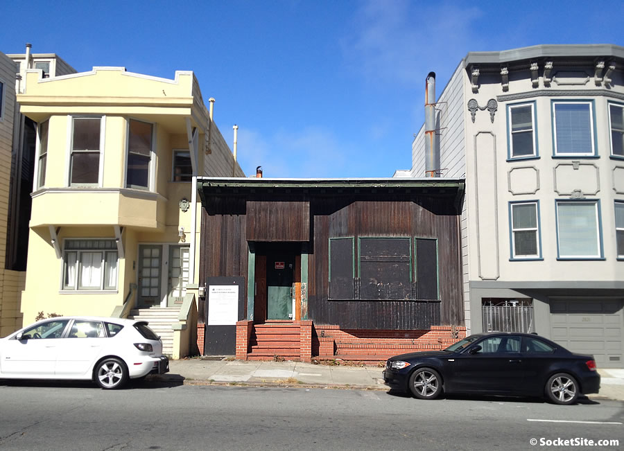 Polk Street Holdout Home Poised for Redevelopment