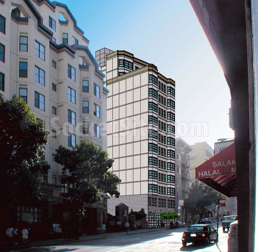 Resurrected Plans for a 13-Story Tenderloin Development to Rise