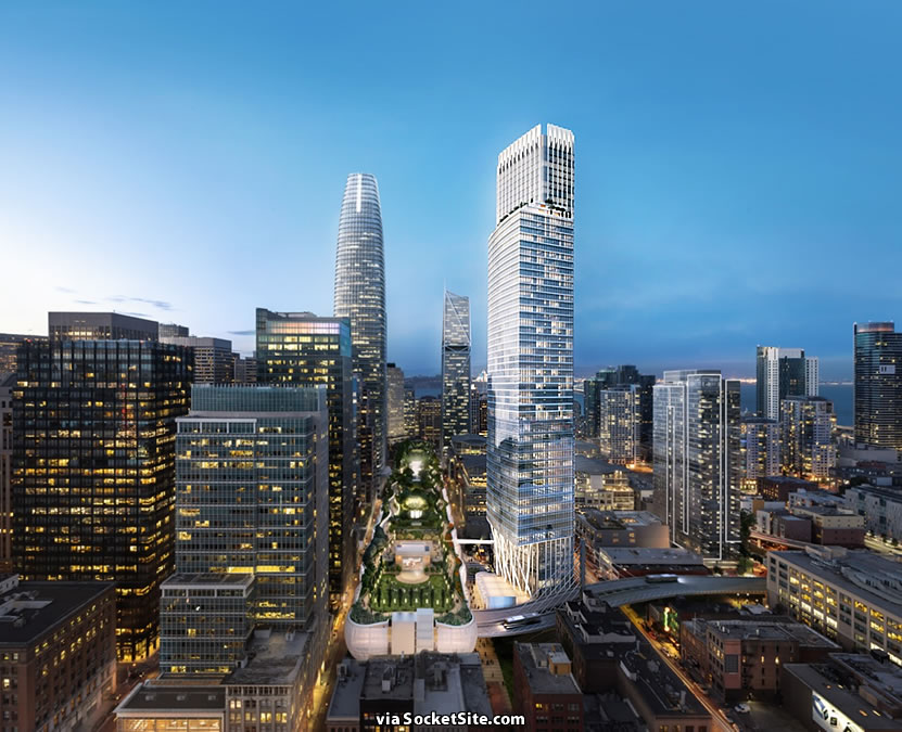 Plans for an 806-Foot-Tall Transbay District Tower Revealed