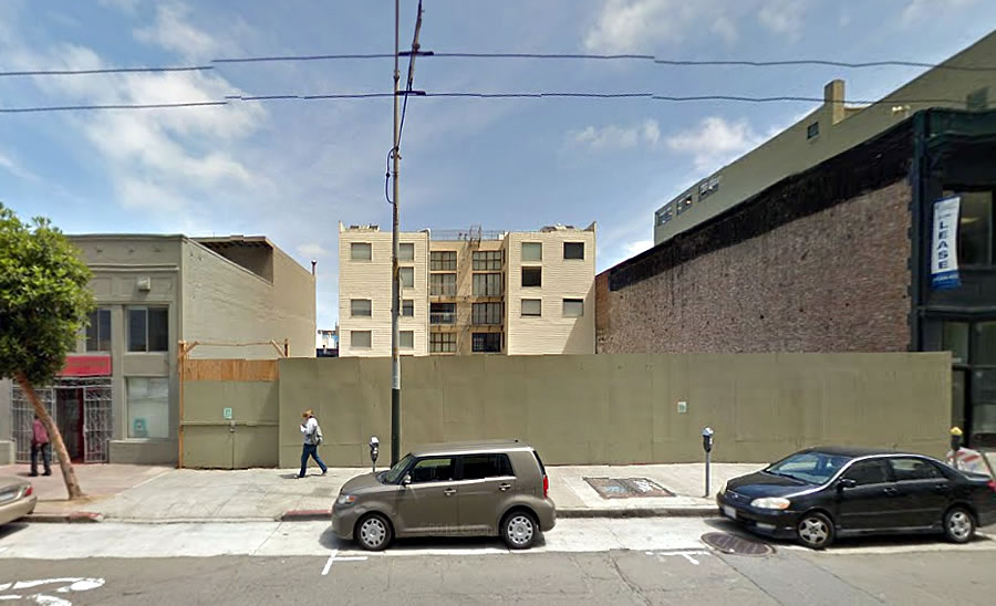 Plans for Decade-Old Pit on Mission to Become Condos