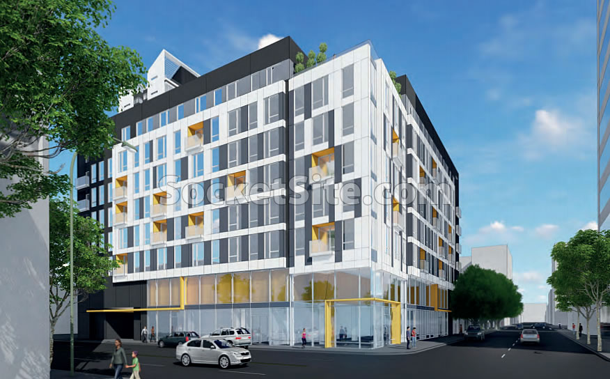19th and Harrison Street Oakland Rendering