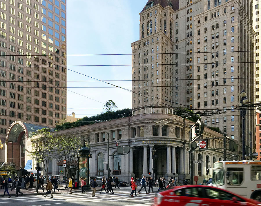 Plans to Deposit a 500-Foot Tower atop This Iconic Downtown Bank
