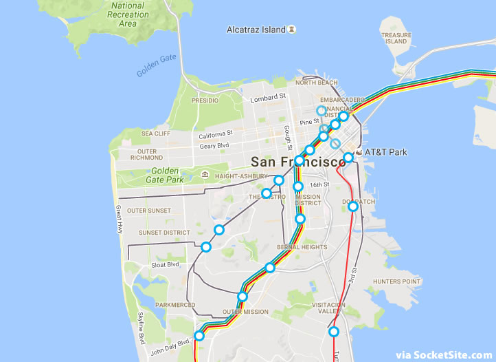 The City to Seek Your Vision for the Future of SF's Subway Lines