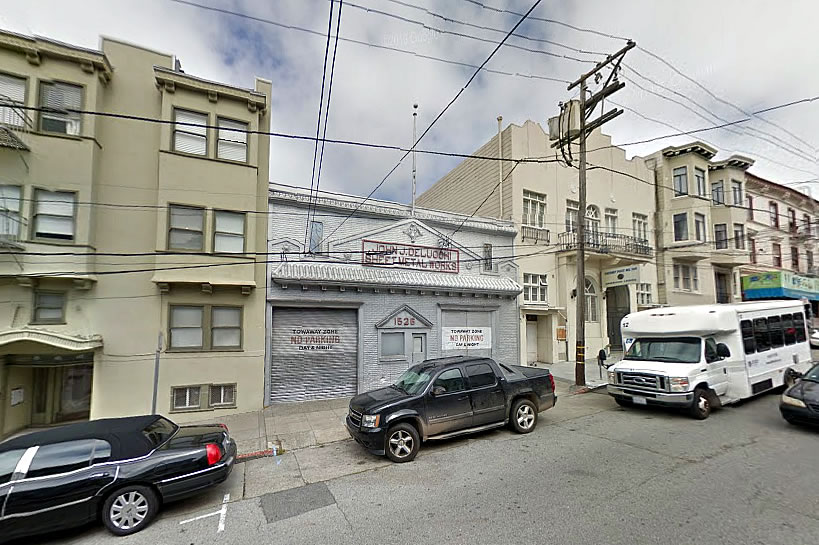 New Life for Delucchi in North Beach as Proposed
