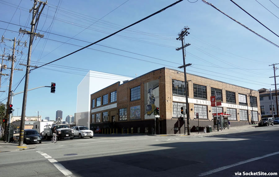 Chocolatier Planning Mission District Addition with a Rooftop Pool