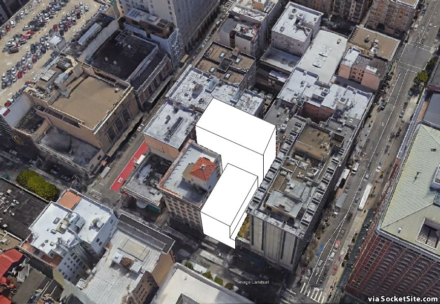 Plans for Another Sizeable Union Square Hotel and Less Parking