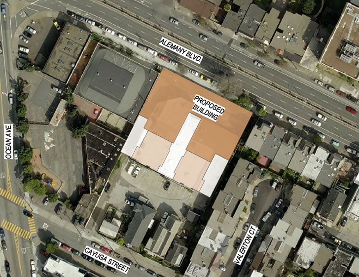 Affordable Housing on Alemany as Proposed