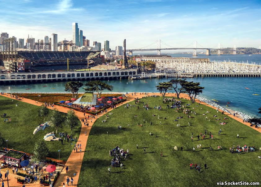 China Basin Park Rendering