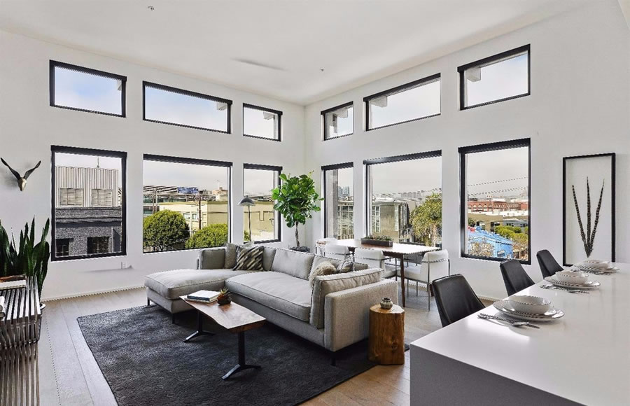 Potrero Hill Penthouse Now Listed at a Loss