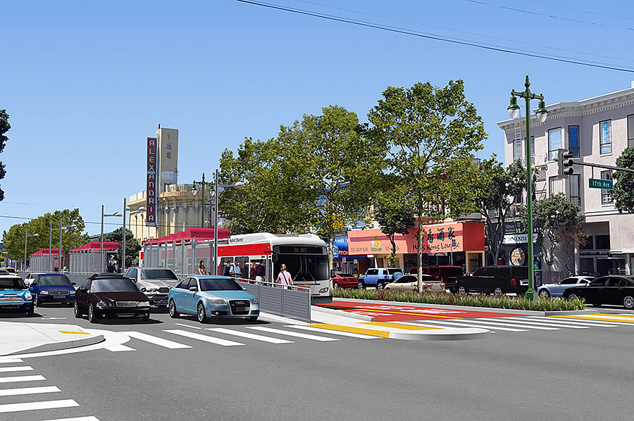 Rapid Transit Line on Geary Closer to Reality