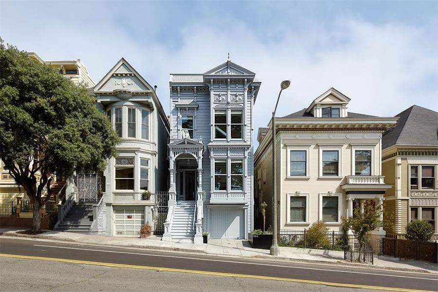 A Stunning Alamo Square Renovation and Hidden $7.3 Million Home