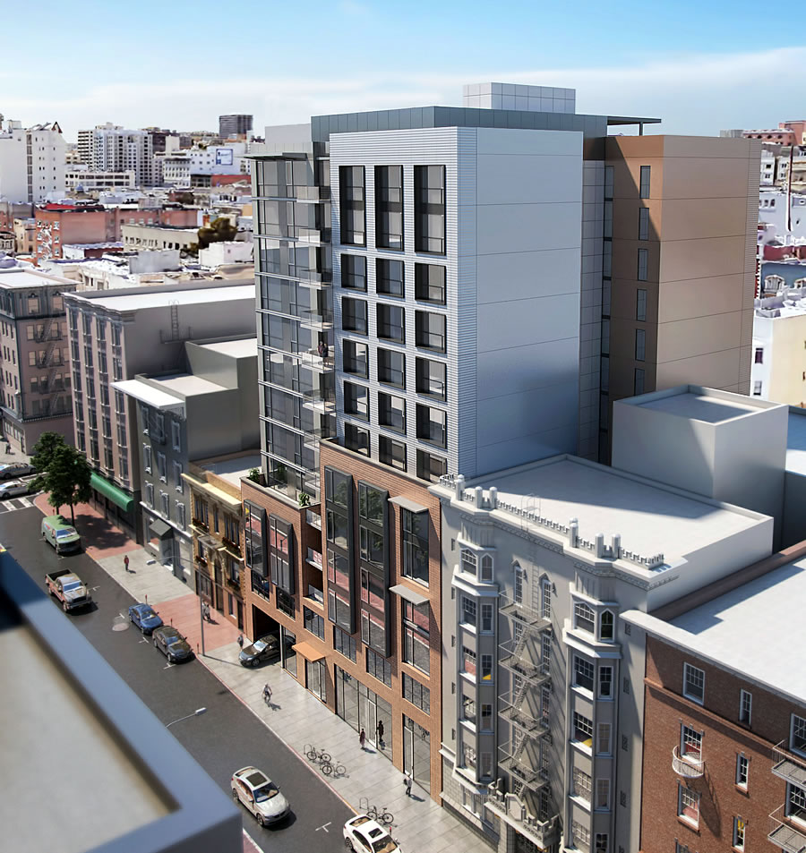 Plans for 115-Unit Building in the Tenderloin Move Ahead