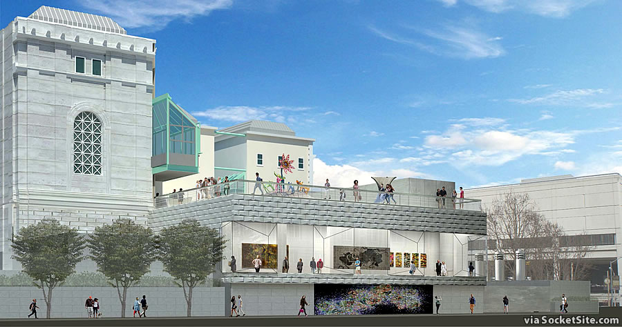 Asian Art Museum Addition Completely Redesigned