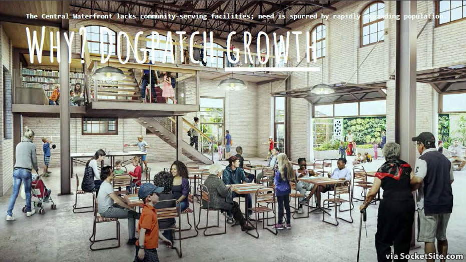 Dogpatch Hub Rendering - Interior