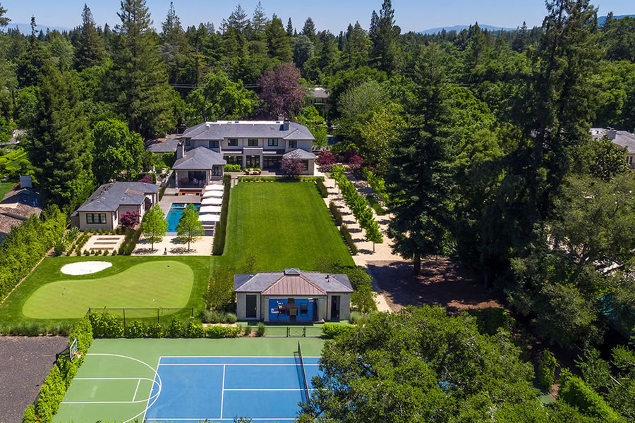 Atherton Estate of Warriors Shareholder on the Market for $32.8M