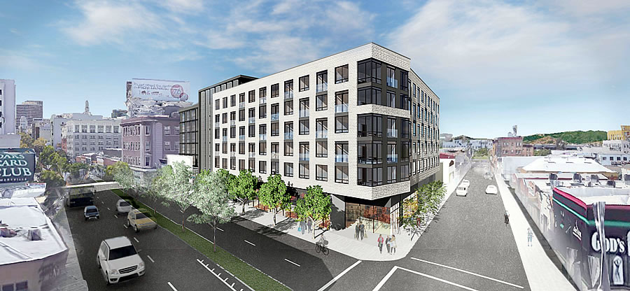 Proposed Uptown Oakland Hotel and Apartments Closer to Reality