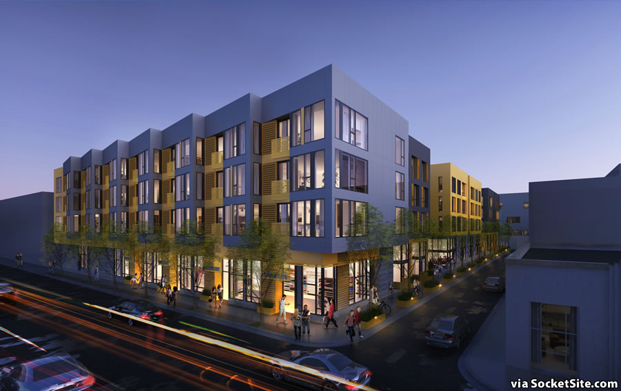 975 Bryant Rendering - Night