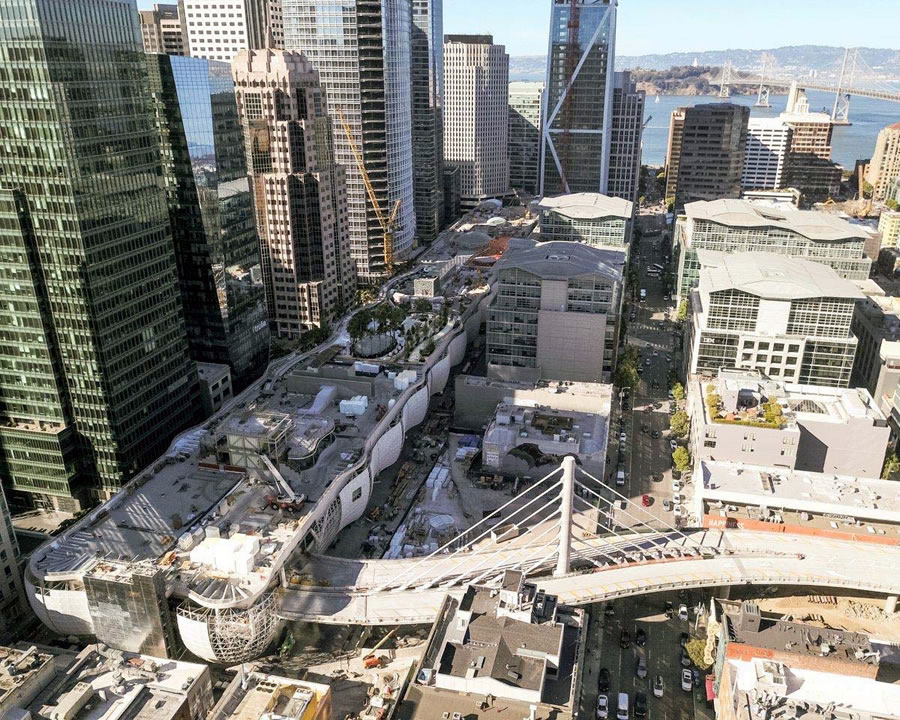 Timing for San Francisco's Transbay Transit Center Slips