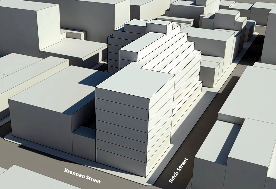 Socketsite Plans For A 239 Room Soma Hotel With A