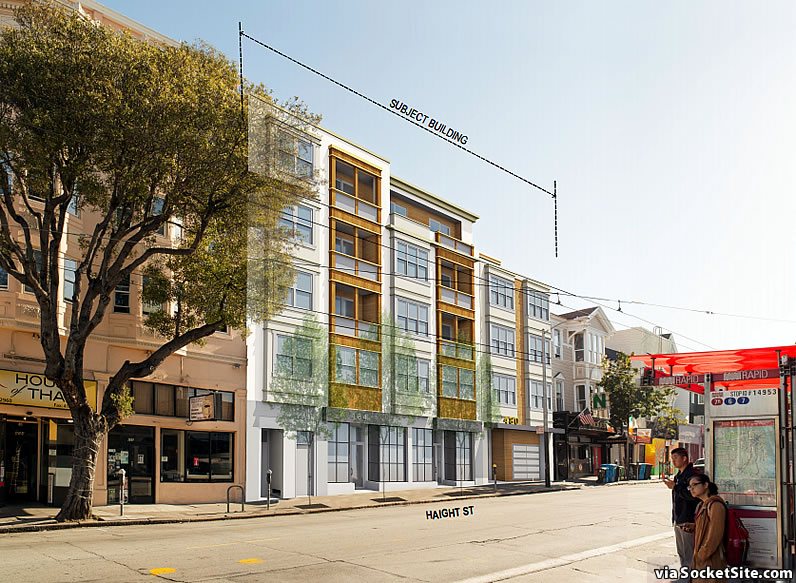 Bigger Plans for Developing Shuttered Haight Street Site