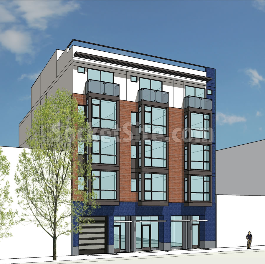 Socketsite big and even bigger plans for 4 5 star for 4 story apartment building plans