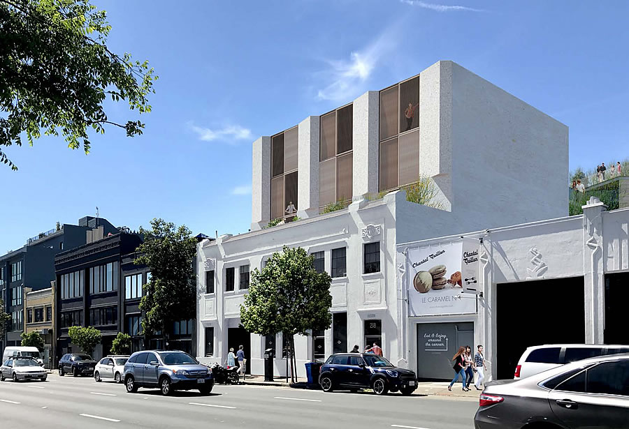 220 9th Street Rendering: Classic