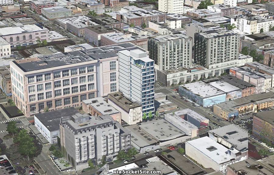 Plans for New Polk Gulch Tower Formalized