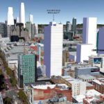 Proposed 454-Unit Mid-Market Tower Massed