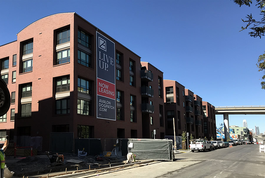 Rents Dropping for New Apartments in Dogpatch