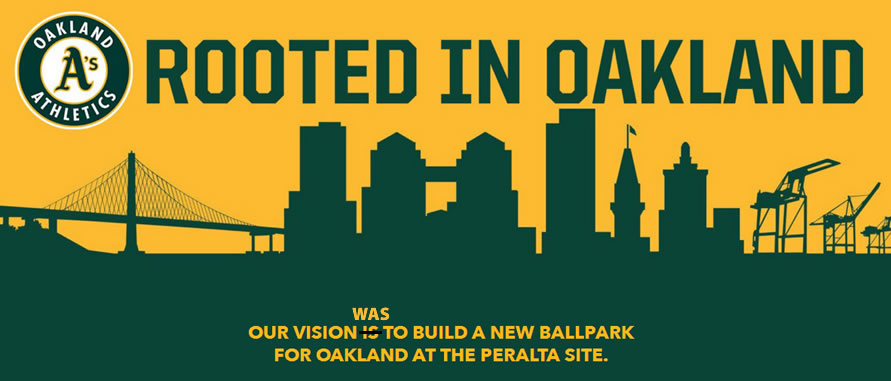 Oakland A's Relegate New Ballpark Site to the Disabled List