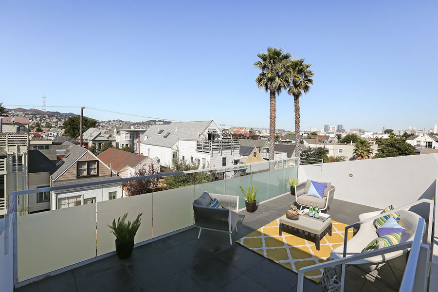 948 Hampshire Street Roof Deck