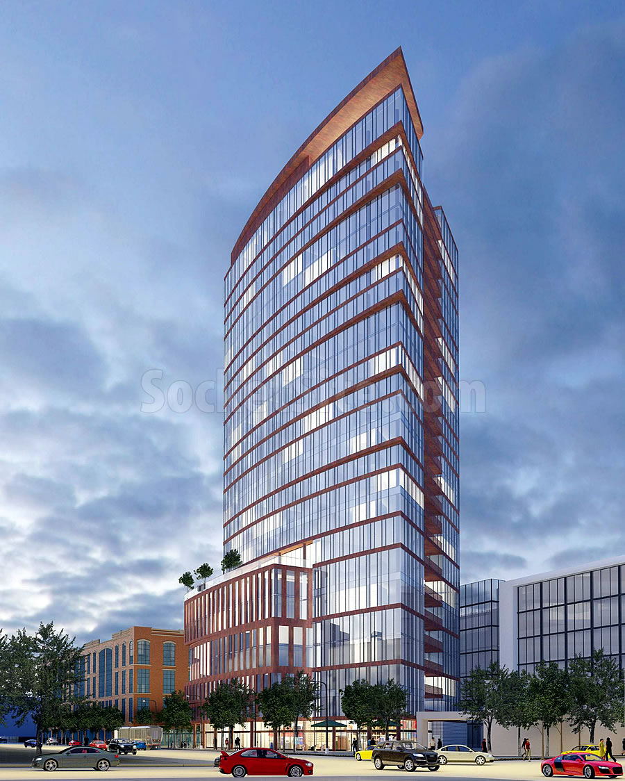 Proposed SoMa Tower Sheds 100 Feet of Height
