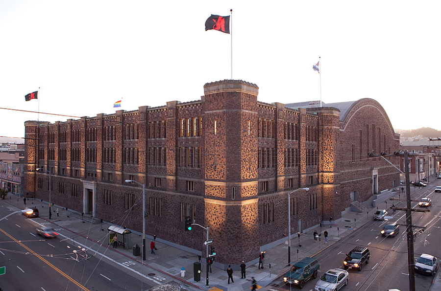 The Hotelless Plans for the San Francisco Armory