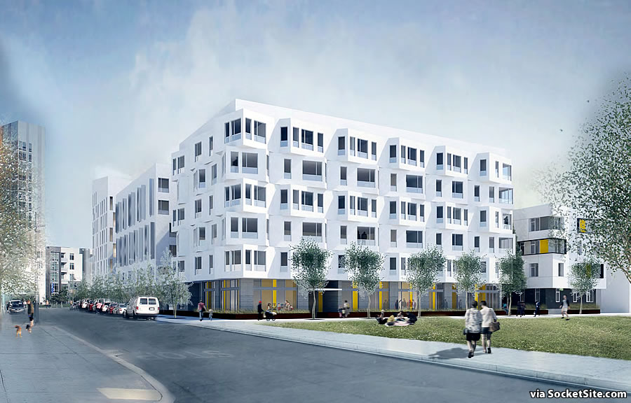 Mission Bay Block 6W Rendering: Mission Bay Boulevard