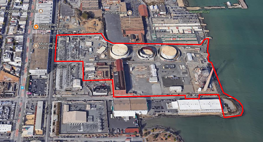 Detailed Plans for Massive Power Plant Redevelopment and Stack