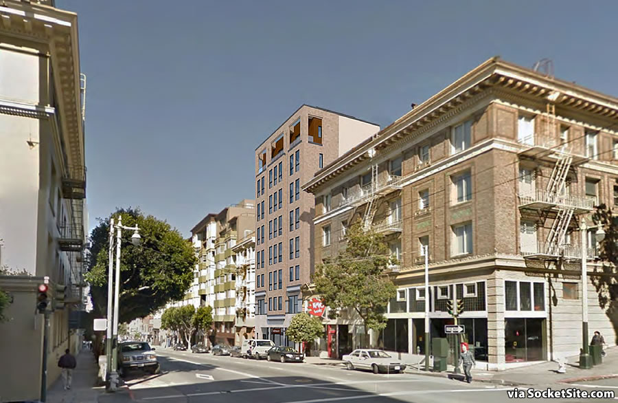 Eight-Story Development in the Tenderloin Closer to Reality