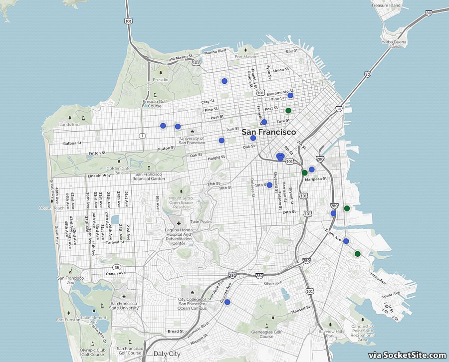 Proposed Development in San Francisco Tracking a Six-Year Low
