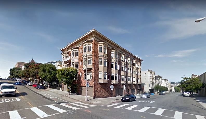 Plans for Infilling within the Alamo Square Landmark District