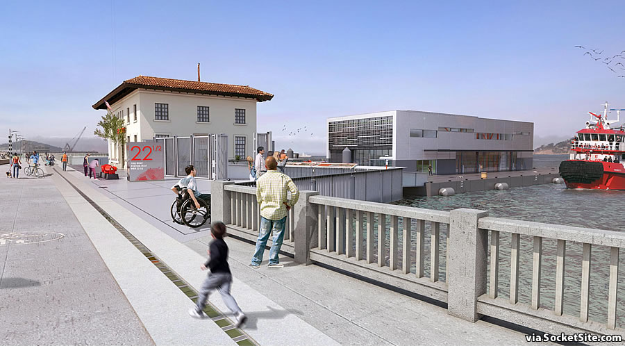 Floating Fire Station 35 Rendering 2018