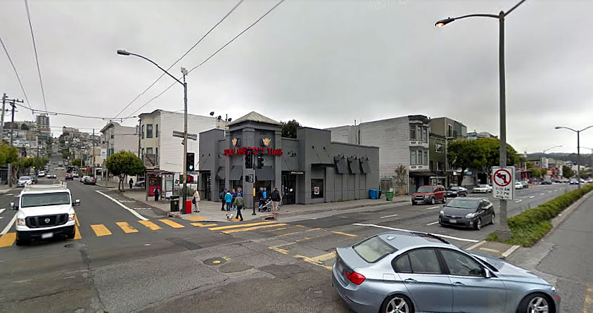 Draft Plans for a Boutique Hotel with Rooftop Bar on Lombard