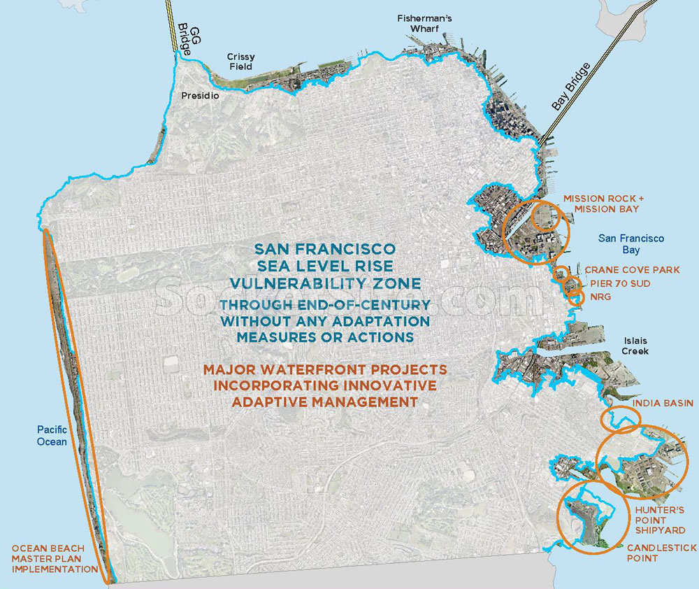 The Vulnerability and Consequences of Sea Level Rise in SF